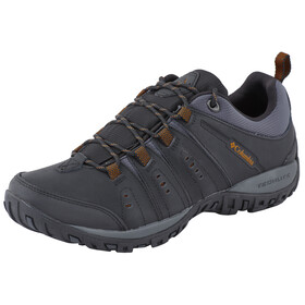 Columbia Peakfreak Woodburn II Shoes Men black / goldenrod